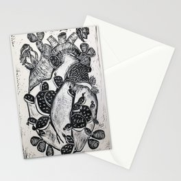 Repatriation in Black Stationery Cards