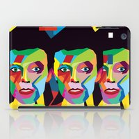 bowie iPad Cases featuring bowie by mark ashkenazi