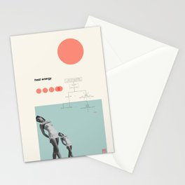 Heat Energy Stationery Cards