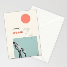 Heat Energy Stationery Cards