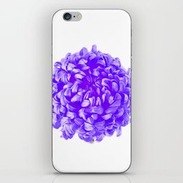 Purple Pop Art Inspired Flower iPhone Skin