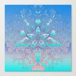 Snowflake 12 Canvas Print