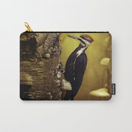 Pileated Woodpecker Forest Sunrise Carry-All Pouch