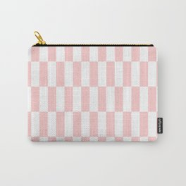 Pink Blocks pattern Carry-All Pouch