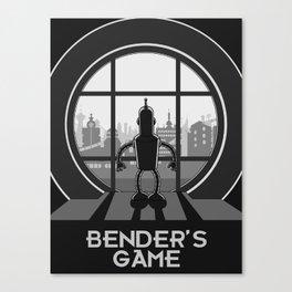Bender's Game Canvas Print