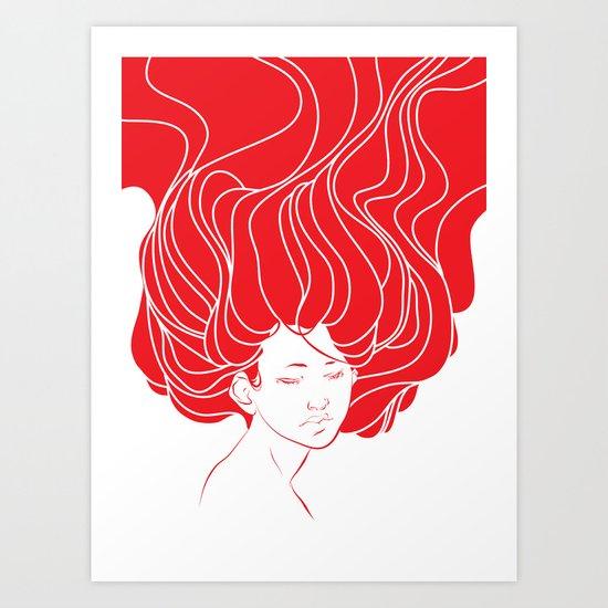 strand Art Print