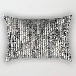 Watercolour Lines Rectangular Pillow