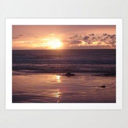 Broome Sunset Art Print