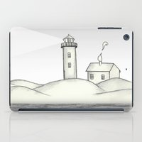 lighthouse iPad Cases featuring Lighthouse by Cecily Cloud