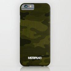 Modern Woodgrain Camouflage / Greenwoods DPM Slim Case iPhone 6