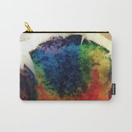 Tie Dye Cupcake Carry-All Pouch