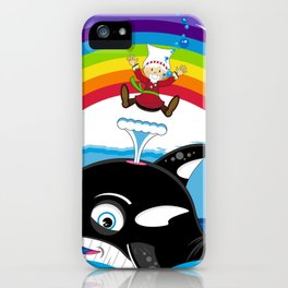 Jonah and the Whale iPhone Case