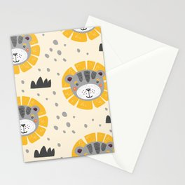 Cute lions Stationery Cards
