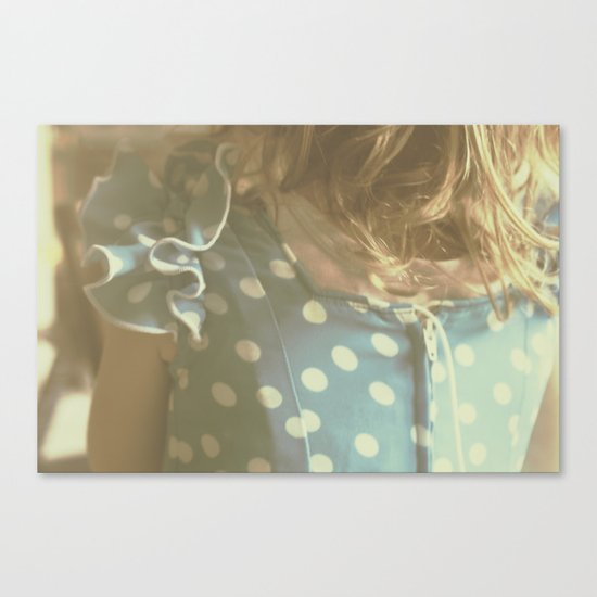Carlotta's Youth Canvas Print