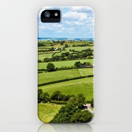 Wales iPhone Case