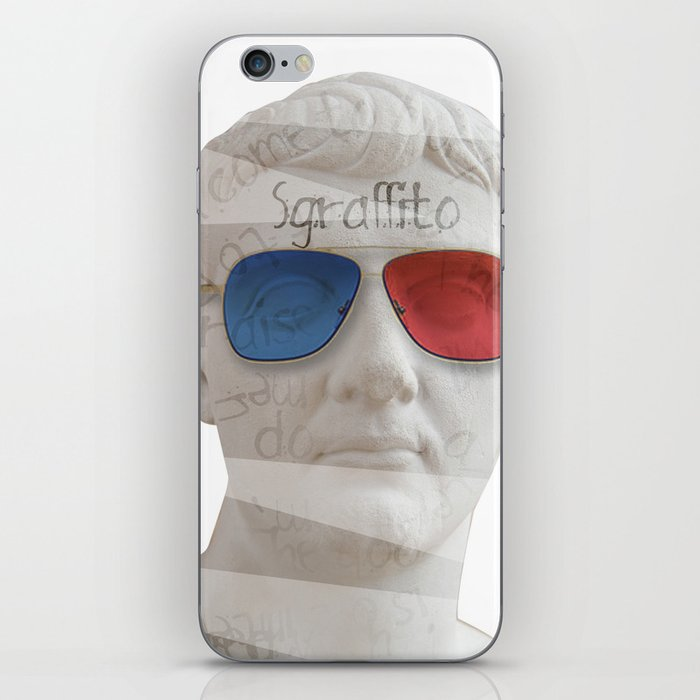scratch 3D iPhone Skin