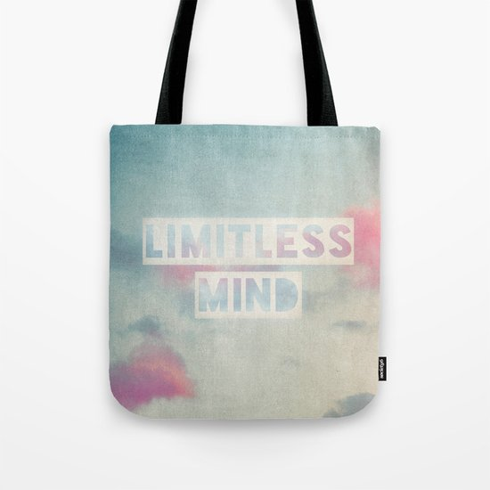 limitless mind Tote Bag