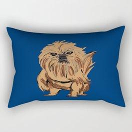 griffon dog Rectangular Pillow