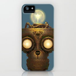 Robot With a Purpose No. 5 iPhone Case