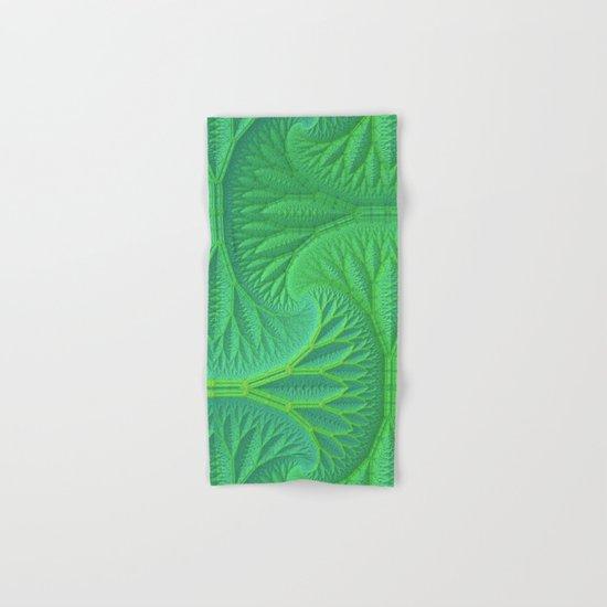 Greenery Hand & Bath Towel