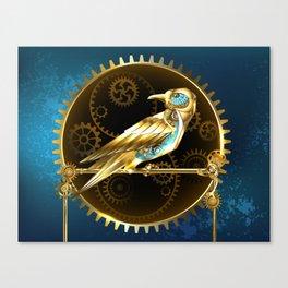 Mechanical Bird ( Steampunk ) Canvas Print