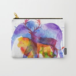I love animals Carry-All Pouch