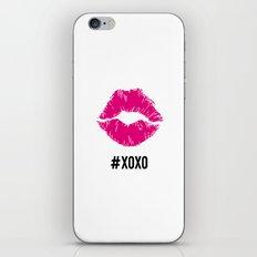 #xoxo iPhone & iPod Skin