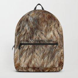 Alaska Faux Fur Backpack