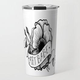 Art Babe Travel Mug