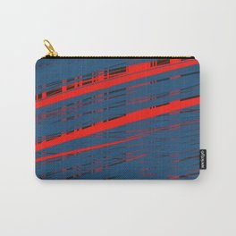 Red glow under the blue curtain Carry-All Pouch