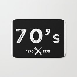 Born in the 70's. Certified Awesome Bath Mat