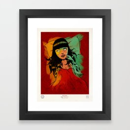 Veneno Vil Framed Art Print
