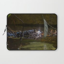 caiman crocodile Laptop Sleeve