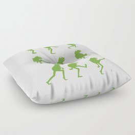 Ministry of Silly Muppet Walks Floor Pillow