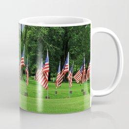 Flags Flying in Memoriam Coffee Mug
