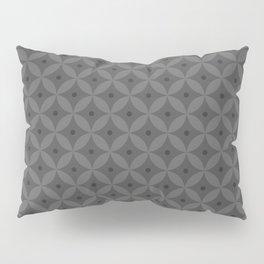Abstract geometric pattern gray 2 Pillow Sham