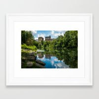 central park Framed Art Prints featuring Central Park by hannes cmarits (hannes61)