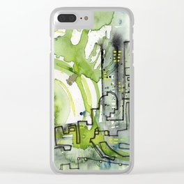 City of Tomorrow Clear iPhone Case