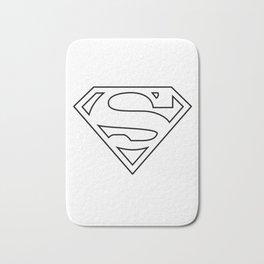 SUPER MAN Bath Mat