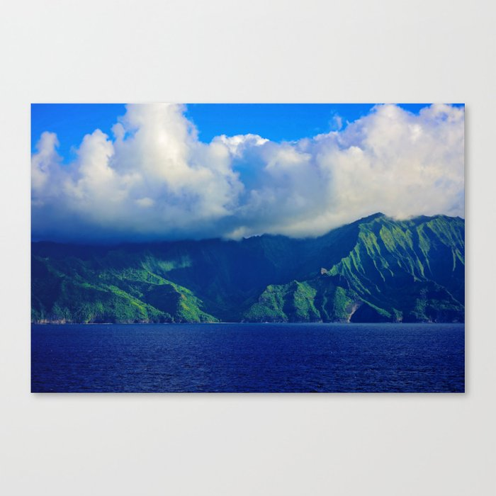Mysterious Land Canvas Print