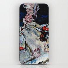 illegal street-art-worker iPhone & iPod Skin