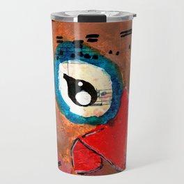 Beau - Quirky Bird Series Travel Mug