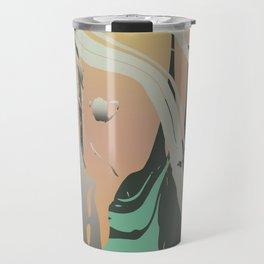 Abstract Marble 3 Travel Mug