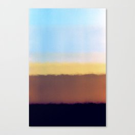I found the end Canvas Print