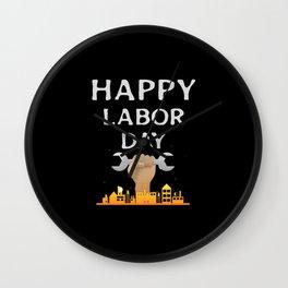 labor day Gift Wall Clock