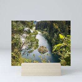 High Rock lookout Mini Art Print