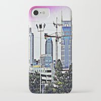 nashville iPhone & iPod Cases featuring Nashville Grit by Andooga Design