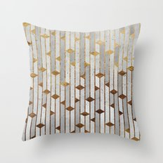 Concrete Skyscrapers Throw Pillow