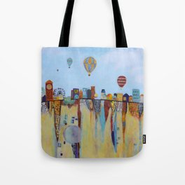 """""""Over and Under"""" Tote Bag"""