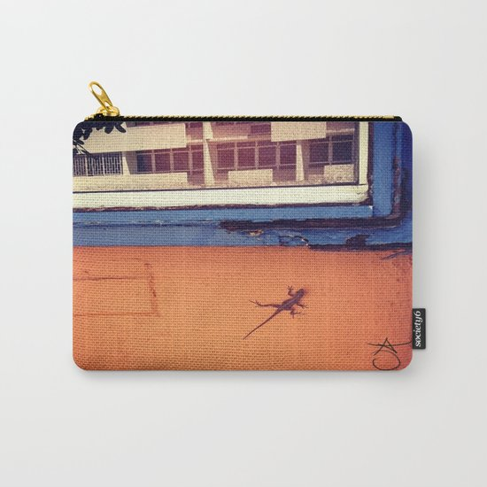Lizard in Puerto Rico Carry-All Pouch